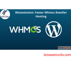 Get Unlimited Reseller Hosting with WHMCS at Cheap price