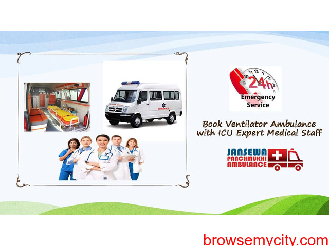 Choose Trusted and Authorized Ambulance Service in Danapur - 1/1