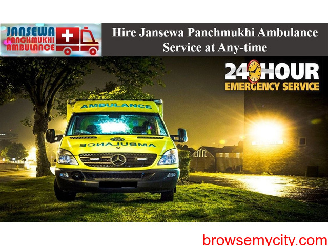 Choose Road Ambulance in Phulwari Sharif with Top-Level Medical Support - 1/1