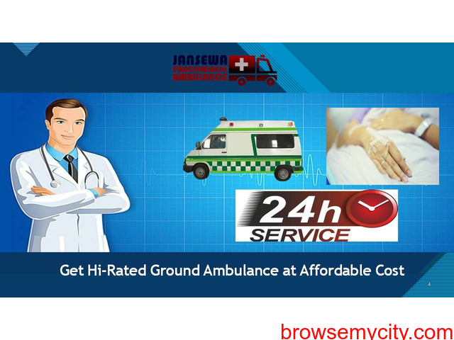 Choose Ambulance Service in Punaichak with Fine Healthcare Support - 1/1