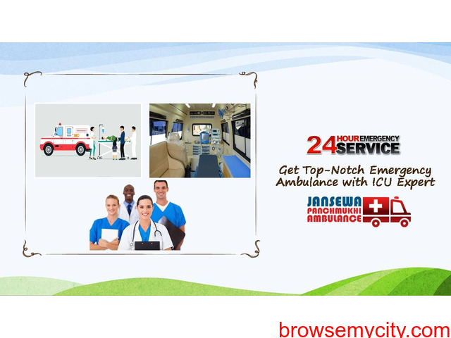 Pick Ambulance Service in Argora with Unimaginable Healthcare Support - 1/1