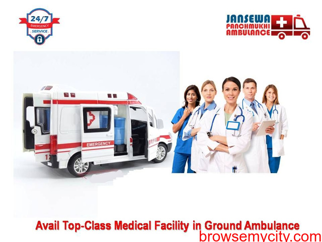 Get the Safest Emergency Ambulance Service in Ashok Nagar - 1/1