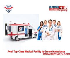 Get the Safest Emergency Ambulance Service in Ashok Nagar