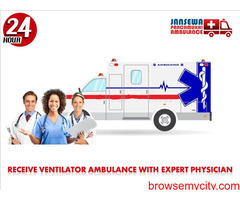 Obtain Road Ambulance Service in Bahu Bazaar at any time