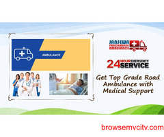 Pick Hi-Level Ground Ambulance Service in Bara Ghagra