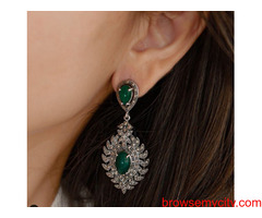 One-Stop Destination to Buy Pure Silver Earrings Online - Chokha Haar