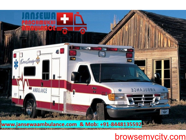 PIck Ambulance Service in Lalpur with Complete Medical System - 1/1