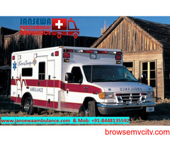 PIck Ambulance Service in Lalpur with Complete Medical System
