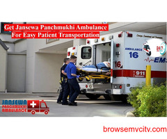 Obtain Ambulance Service in Nagra Toli with Life-Support System