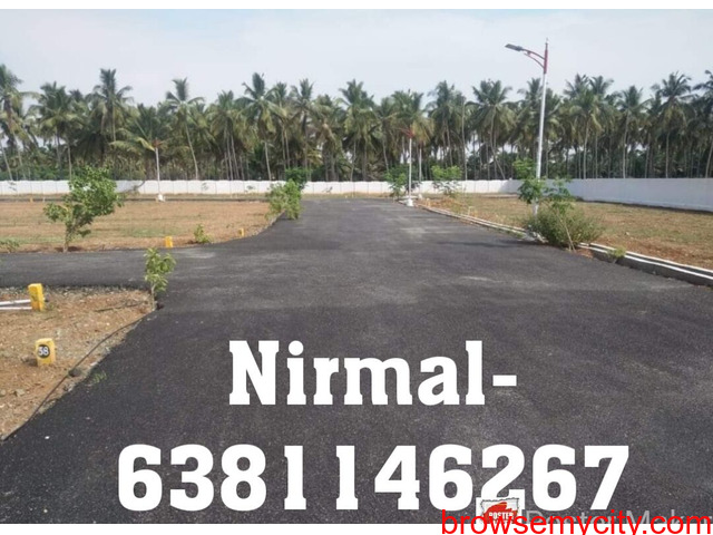 DTCP Approved 3.5 cent East facing site for sale Near prozone mall vilankurichi road, vinayagapuram - 1/2