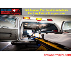 Select the Finest Ambulance Service in Patel Nagar with Reliable Medical Group