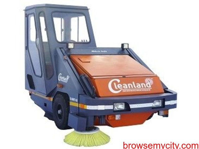Road Cleaning Machine on Rent with Operator - 1/1