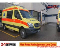 Take the Benefit of Cardiac Ambulance Service in Dhurwa