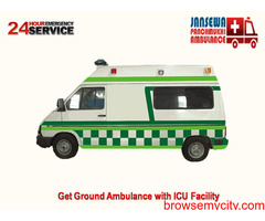 Quickly Book Ambulance Service in Dibdih at Low Budget