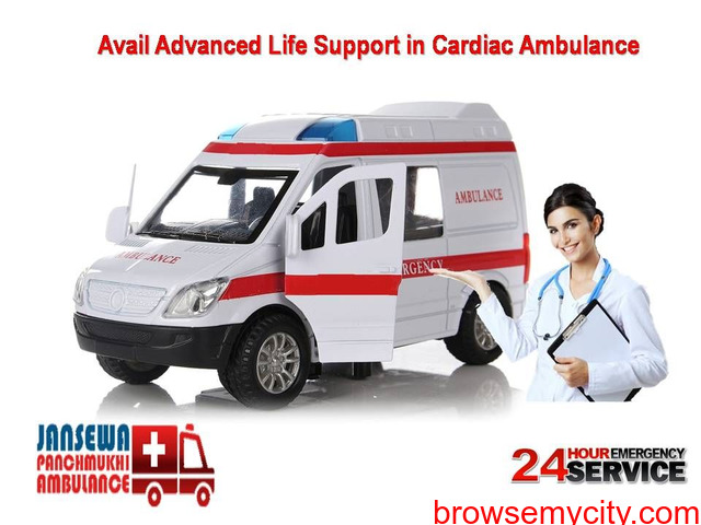 Get Quickly Budget-Friendly Ambulance Service in Jawahar Nagar - 1/1