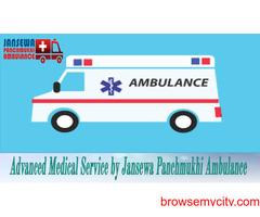 Use Jansewa Panchmukhi Ambulance in Shri Krishna Nagar with Life-Support System
