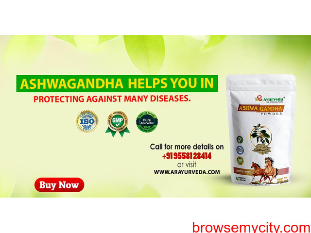Ashwagandha helps you in protecting against many diseases - 1/1