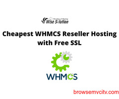 Cheapest WHMCS Reseller Hosting with Free SSL and more