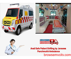 Choose Ground Ambulance Service in Rani Bagan with Elegant Healthcare Facility
