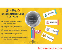 how to school management software work?