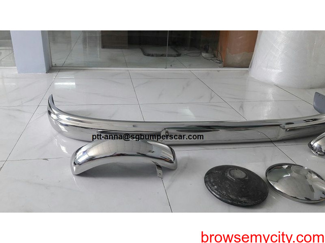 Ford FK-1000 Bus Frontt Bumper and Rear Bumper - 3/3