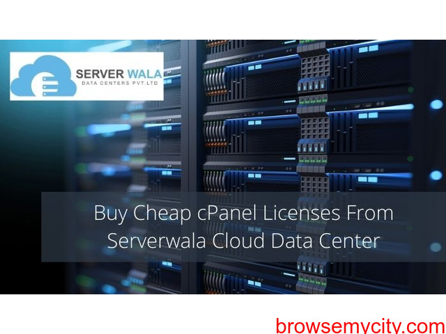 Buy Cheap cPanel Licenses From Serverwala Cloud Data Center - 1/1