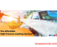 Car washing service: Choose the right affordable high pressure washer