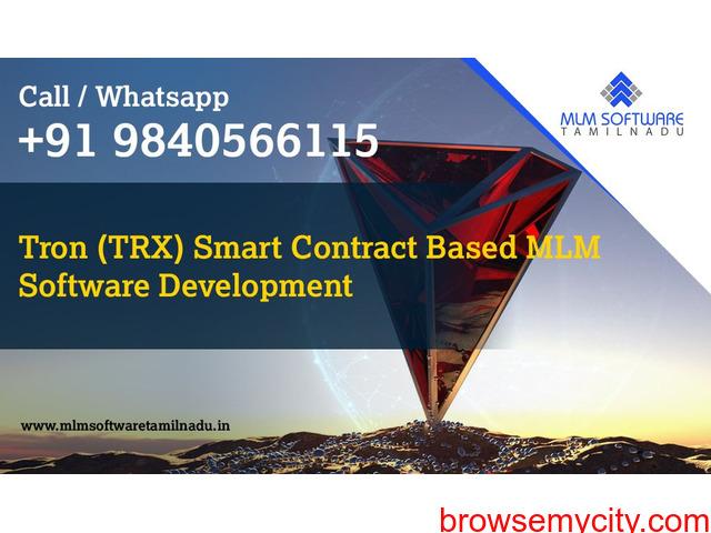 TRON (TRX) Smart Contract Based MLM Software Development-MLM software tamilnadu - 1/1