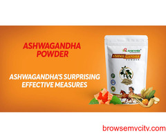 Ashwagandha Surprising Effective Measures