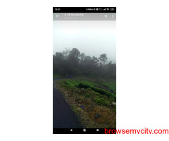 2.4 acres of pucca pattayam land on the left side of Munnar -Mankulam road at Letchmi Estate of TATA