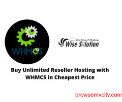 Get the Best Reseller Hosting with WHMCS at Wiseolution