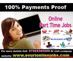 Part Time Home Based Data Entry Work / Home Based Copy Paste Form Filling Job