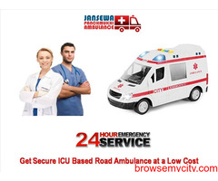 Take Top-Rated Ambulance Service in Buxar at an Exclusive Price