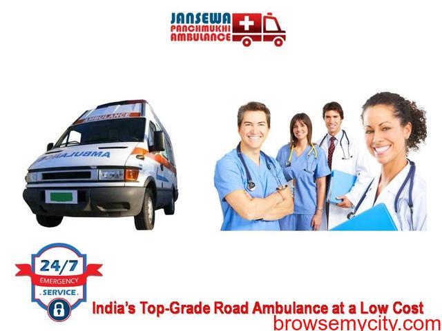 Hire Modern Emergency Ambulance Service in Vasant Vihar - 1/1