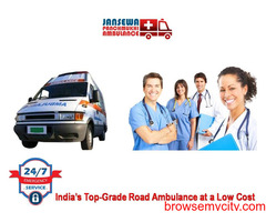 Hire Modern Emergency Ambulance Service in Vasant Vihar