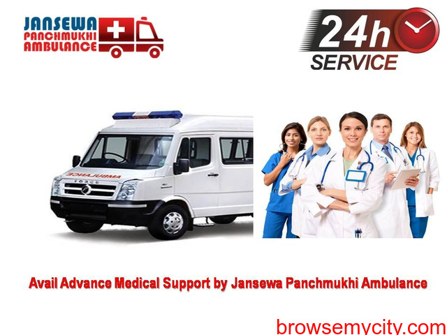 Use Ambulance Service in Vasant Kunj with Exquisite Emergency Service - 1/1
