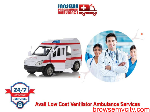 Avail Ambulance Service in Saket with Alpha Bed Facility - 1/1