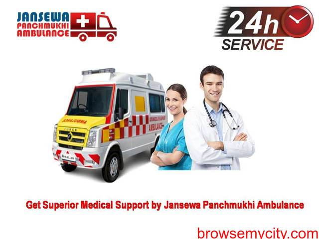 Choose Instantly Ambulance Service in Nehru Place at Anytime - 1/1
