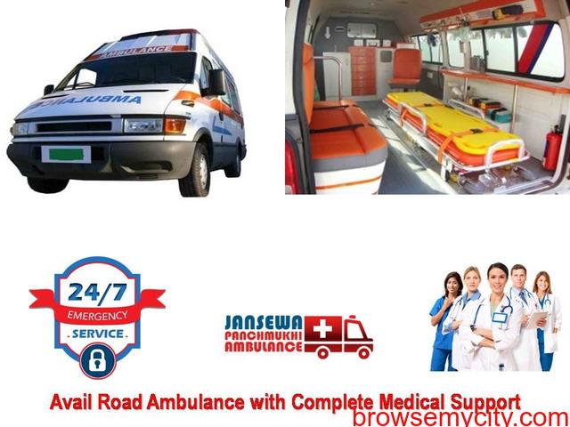 Get Brand New Emergency Ambulance Service in Mayur Vihar Low Fare - 1/1