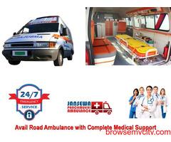 Get Brand New Emergency Ambulance Service in Mayur Vihar Low Fare