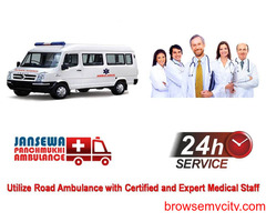 Pick Ambulance Service in Pitampura with Unequalled ICU Facility