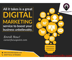Best Digital Marketing Service Company in Delhi | Career Focus Point