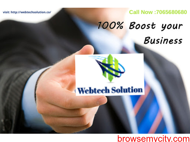 Online Web Promotion Service Provider Company In Noida & Across India - Webtech Solution - 1/1
