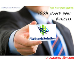 Online Web Promotion Service Provider Company In Noida & Across India - Webtech Solution