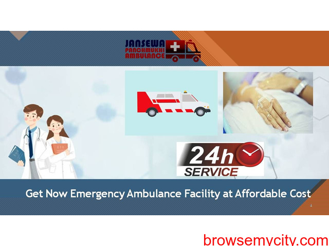 Select Ambulance Service in Sitamarhi with First-Class ICU Facility - 1/1