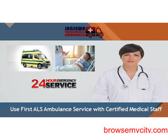 Select Highly Advanced Emergency Ambulance Service in Mokama