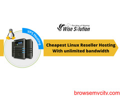 Cheapest Linux Reseller Hosting With unlimited bandwidth