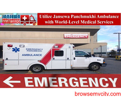Choose Ambulance in Ranchi with Top-Class Medical Treatment
