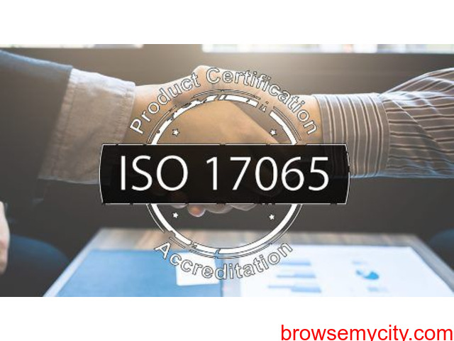 ISO 17065 Accreditation Documents - 1/1