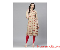 LATEST SUMMER KURTIS DESIGN & ETHNIC WEAR COLLECTION ONLY AT SHREELIFESTYLE